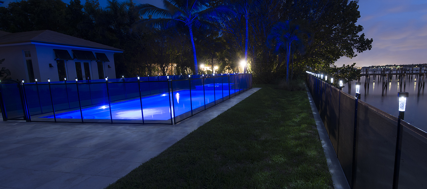 Pool Fence Solar Light Pool Fence Diy