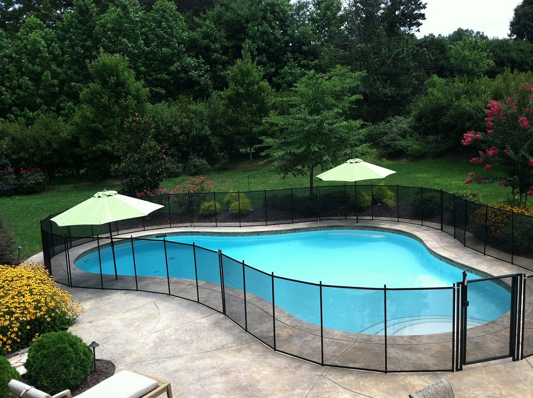 Diy pool fence installation